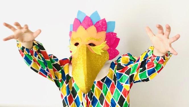Maschera di Carnevale ANTI-COVID